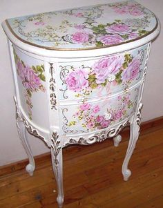 pretty decoupage.