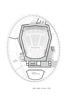 Image 17 of 20 from gallery of Great Amber Concert Hall / Volker Giencke. Floor Plan