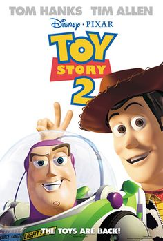 Toy Story 2 is a 1999 American computer-animated comedy adventure film produced by Pixar Animation Studios and released by Walt Disney Pictures. It is the sequel to the 1995 film Toy Story. Disney Movie Posters, Disney Pixar Movies, Kid Movies, Family Movies, 2 Movie, Cartoon Movies, Love Movie, Movie List, Great Movies