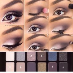 Eyeshadow Tutorials For The Summer #SummerVibes