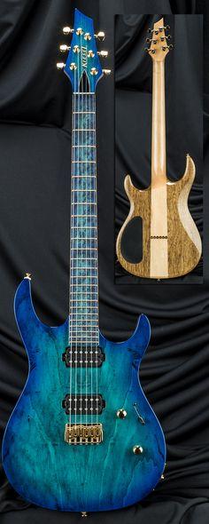 Carvin Guitars DC600H 2 Pickup Guitar w/ Hipshot Bridge Serial Number 122691