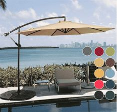 In order to enjoy each and every moment of your outdoor stay, it is important to have the conditions that best suit you. The best umbrellas are more than Best Umbrella, Offset Patio Umbrella, Patio Umbrellas, Home Kitchens, February, In This Moment, Outdoor Decor, Top, Home Decor