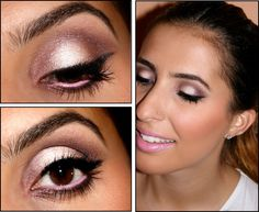 Inês Mocho Make Up: Step by Step! Sunset Eyes by Elisa Almeida - LOVELY EYE MAKEUP