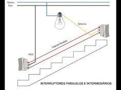 two way light switch diagram & Staircase Wiring Diagram
