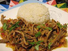 Cocina Costarricense: carne mechada