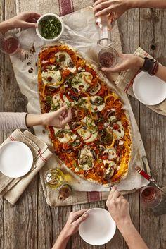 Alicia Buszczak | Prop Stylist | Los Angeles - TABLE TOP #pizza #food #friends