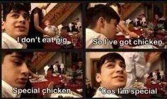 Special chicken for special Zayn