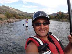 shaine river SUPselfie,
