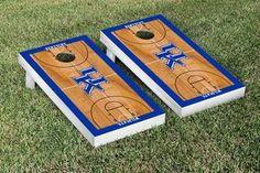 Kentucky UK Wildcats Cornhole Game Set Basketball Court Version