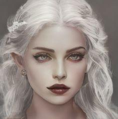 Fantasy Drawings, Fantasy Artwork, Fantasy Inspiration, Character Design Inspiration, Character Aesthetic, Aesthetic Girl, Character Portraits, Character Art, Fantasy Characters