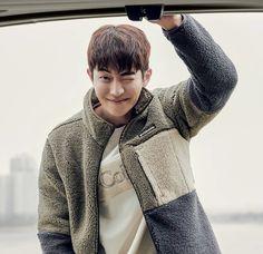 Nam Joo Hyuk Lockscreen, Nam Joo Hyuk Wallpaper, Kim Joo Hyuk, Joon Hyuk, Korean Drama Best, Weightlifting Fairy Kim Bok Joo, Kdrama Actors, Weight Lifting, Men Sweater