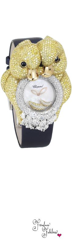 Frivolous Fabulous - Chopard Yellow Duckling Watch 2013