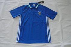 16-17 Juventus Football Shirt Cheap Blue Soccer POLO Shirt [F745]
