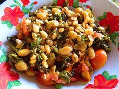 Tea leaf salad delicious healthy and tasty local food Myanmar Burma