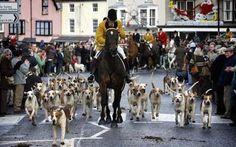 The Berkeley Hunt on the high street of Thornbury, South Gloucestershire