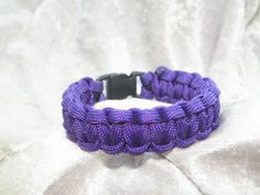 Paracord Bracelet by CraftsbyTine on Etsy, $5.00