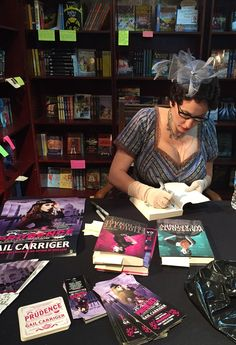 Gail Carriger – Book Signing for Prudence