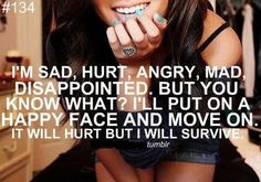 hurt sometimes that's all you can do darlin<3 stay strong my beautiful<3