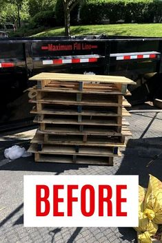 Using recycled pallets and Cushion Foam you can make this easy porch or patio bench on a budget. Pallet Shed, Pallet Patio, Patio Bench, Patio Seating, Diy Patio, Patio Table, Plastic Pallets, Recycled Pallets, Wood Pallets