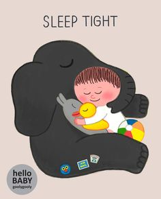 hello baby / goolygooly illustration Baby Drawing, Cute Characters, Illustrations And Posters, Cute Illustration, Animal Drawings, Childrens Books, Illustrators, Fairy Tales, Doll Patterns