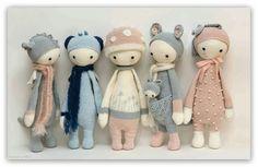 Crochet Mandala Pattern, Crochet Animal Patterns, Crochet Doll Pattern, Crochet Patterns Amigurumi, Amigurumi Doll, Crochet Animals, Knitted Dolls, Crochet Dolls, Crochet Bunny