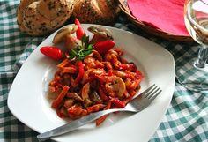 Žampionový salát delikates