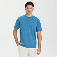 Your favorite workout tee - reinvented, johnnie-O style
