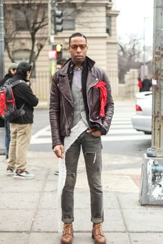 """We asked Quincy from Washington D.C. about his style and he explained, """"I don't own """"outfits"""". Why would someone buy an article of clothing ..."""
