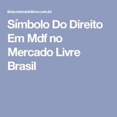 Símbolo Do Direito Em Mdf no Mercado Livre Brasil