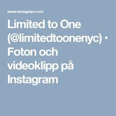 Limited to One (@limitedtoonenyc) • Foton och videoklipp på Instagram
