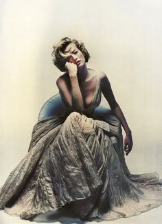 Tatjana Patitz by Nick Knight for Jil Sander Spring 1992