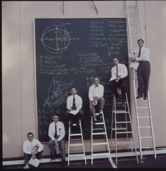 || Space program mathematicians, from J. R. Eyerman's Space Frontiers series (1961) for LIFE Magazine