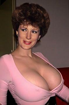 Mature lasses handjob on tits