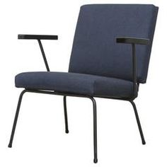 Wim Rietveld No. 9 Lounge Chair for Gispen