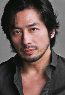 """Hiroyuki Sanada, Japanese actor in cult ninja movies in the '80s, and more recently in """"The Last Samurai."""" Must watch his movies to truly appreciate his sex appeal.  Quiet manly-manness is what comes to mind.  (Google Image Result for http://ia.media-imdb.com/images/M/MV5BMjE2MzY0NTM1Ml5BMl5BanBnXkFtZTcwNzQzNzMyMw%40%40._V1._SY314_CR44,0,214,314_.jpg)"""