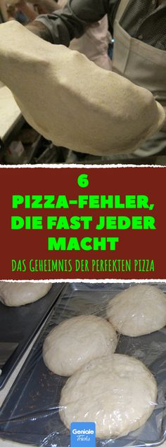 6 Pizza-Fehler, die fast jeder macht 6 pizza mistakes that almost everyone makes pizza like an Itali Vegetable Pizza Recipes, Taco Pizza Recipes, Vegetarian Pizza Recipe, Shrimp Recipes, Salmon Recipes, Pizza Recipe Pillsbury, Pizza Recipe Video, Seafood Pizza, Supreme Pizza