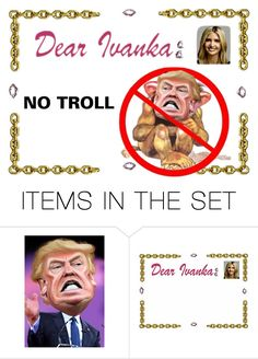"""""""No Troll"""" by sjlew ❤ liked on Polyvore featuring art"""