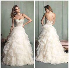 192772fe8d Allure Bridals 9110-Ltg S-30 Wedding Dress Accesorios Para Novias