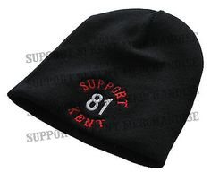 Support 81 kent #hells angels #england #beanie wooly pull on hat big red machine,  View more on the LINK: http://www.zeppy.io/product/gb/2/172158289622/