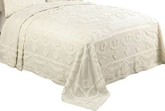 Modern Heirloom Collection Valerie Chenille Bedspread, King, Ecru Modern Heirloom Collection http://www.amazon.com/dp/B00M14BOBW/ref=cm_sw_r_pi_dp_e3Qnvb16QSPZ7