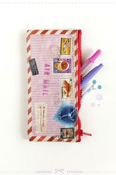 Air Mail Letter Pouch