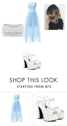 """Untitled #194"" by elena-horror999 ❤ liked on Polyvore featuring Yves Saint Laurent and Chanel"