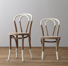 """Paint-Dipped French Café Play Chair. (kid's size = great for loft) Small Chair: 13½""""W x 16¼""""D x 26""""H Small Seat: 14½""""H"""