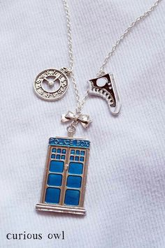 Doctor who necklace..need it!