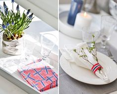 17 mai pynt til bordet | Kid Interiør Public Holidays, Holidays And Events, Hygge, Table Decorations, Party, Norway, Home Decor, Pictures, Decoration Home