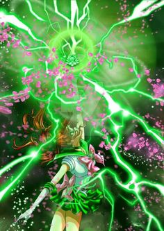 Sailor Jupiter Shiny Crystal Power: The Jupiter by AmarineCraft on DeviantArt - CLS Sailor Jupiter, Sailor Moon Stars, Sailor Moon Crystal, Arte Sailor Moon, Sailor Moom, Sailor Moon Fan Art, Sailor Moon Character, Sailor Moon Manga, Sailor Pluto