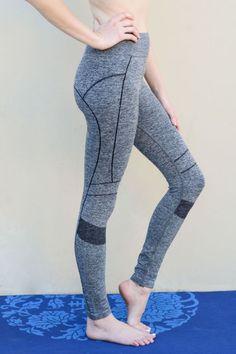 Grey Seamless Workout Leggings