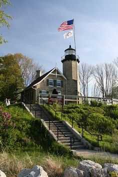 White River Lighthouse in White Lake, Michigan