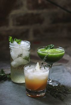 St. Patrick's Day Mock Cocktails | The Merrythought