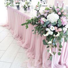 Пудровый декор пудровый президиум пудровая свадьба свадьба пудра